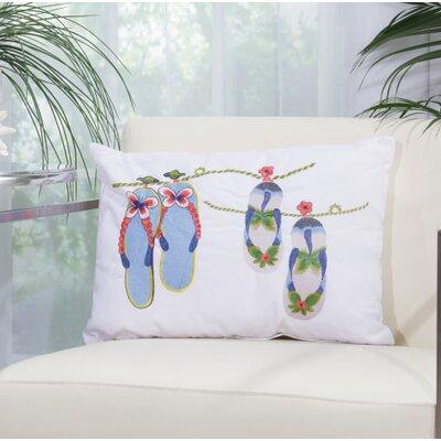 Lina 4 Flip Flops Lumbar Pillow