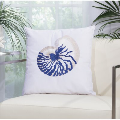 Corine Conch Throw Pillow