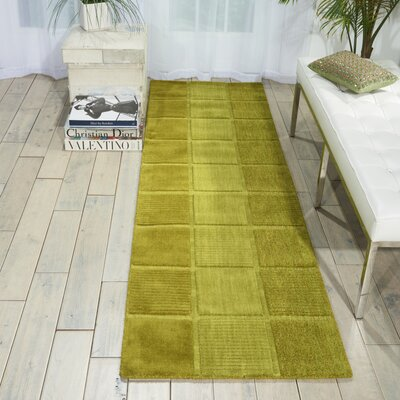 Westport Hand-Tufted Green Area Rug Rug Size: Runner 23 x 76