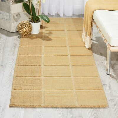 Westport Hand-Tufted Ivory Area Rug Rug Size: Runner 23 x 76