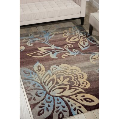 Contour Brown Area Rug Rug Size: 8 x 106