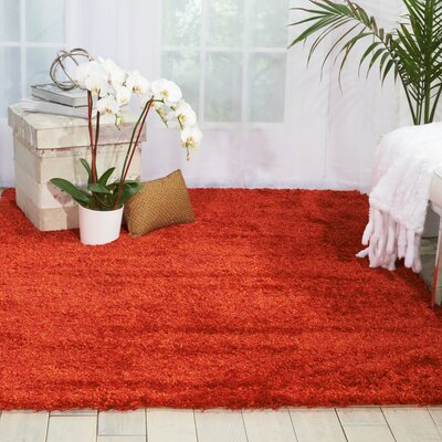Cera Flame Area Rug Rug Size: Rectangle 76 x 96