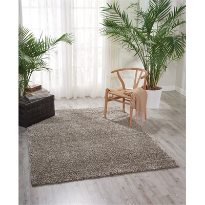 Urska Rug in Stone Rug Size: Rectangle 5 x 7
