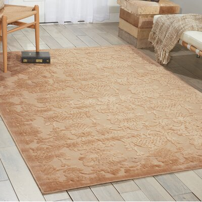 Riffe Light Gold Area Rug Rug Size: 79 x 1010