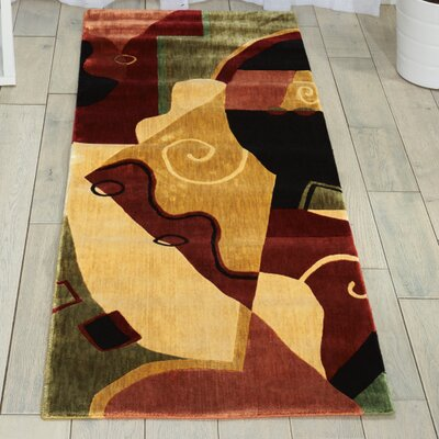 Parallels Multi Area Rug Rug Size: 23 x 39