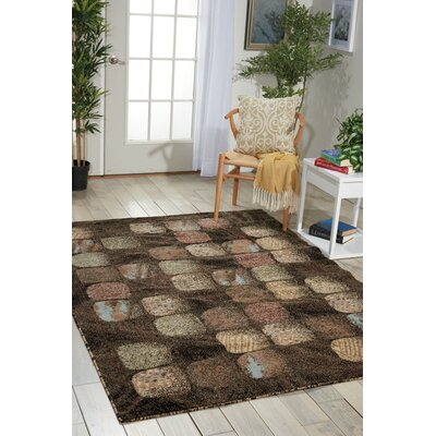 Duke Black/Brown Area Rug Rug Size: Rectangle 311 x 53