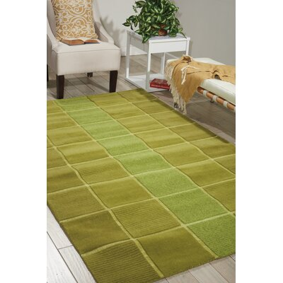 Westport Hand-Tufted Green Area Rug Rug Size: 5 x 8