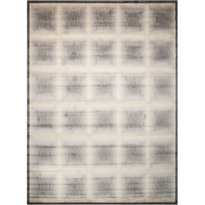 Utopia Shell Contemporary Rug Rug Size: 36 x 56