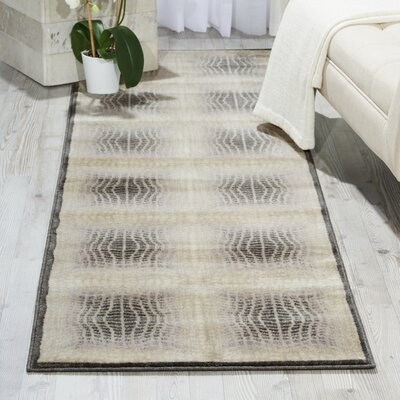 Pismo Beach Shell Contemporary Rug Rug Size: Runner 23 x 8