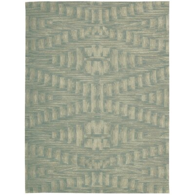Anacari Hand-Tufted Breeze Area Rug Rug Size: 36 x 56