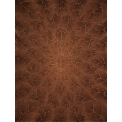 Downing Hand-Tufted Tobacco Area Rug Rug Size: Rectangle 8 x 11