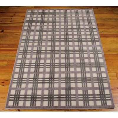 Burnham Ivory/Brown Area Rug Rug Size: 79 x 1010