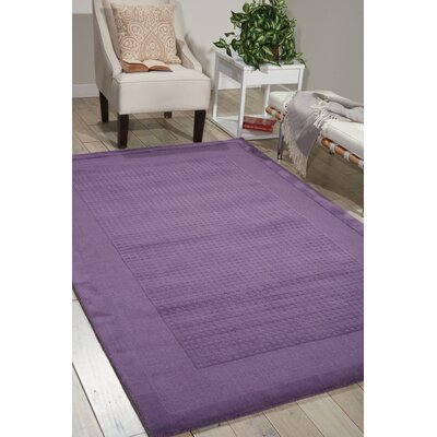 Aspasia Purple Area Rug Rug Size: Rectangle 26 x 4