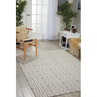 Asteria Gray Area Rug Rug Size: Rectangle 26 x 4