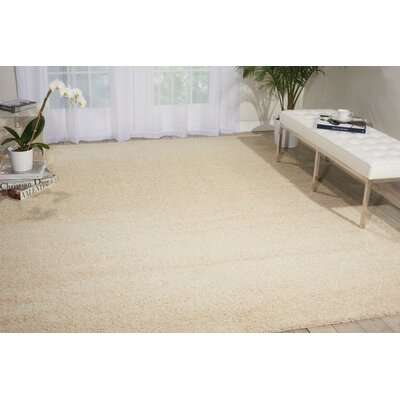 Briony Rug in Cream Rug Size: 5 x 7