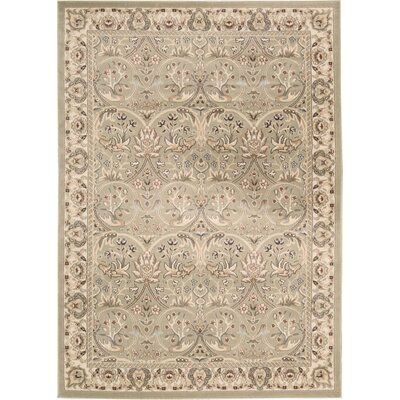 Madisonburg Light Brown Area Rug Rug Size: Rectangle 53 x 74