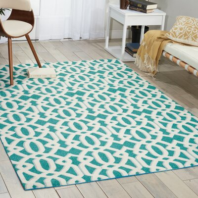 Elon Rug in Tea Rug Size: 4 x 6