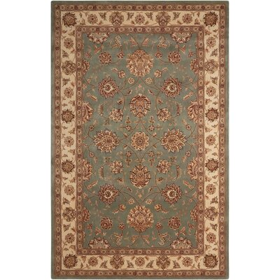 Nourison 2000 Hand Woven Wool Blue Indoor Area Rug Rug Size: 2 x 3