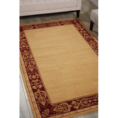 Buchanan Beige Area Rug Rug Size: Rectangle 53 x 83