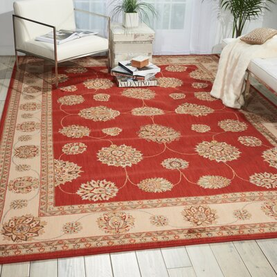 Baum Rust Area Rug