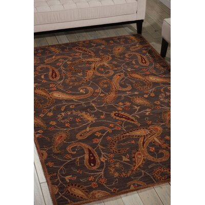 Broomhedge Hand-Tufted Charcoal Area Rug