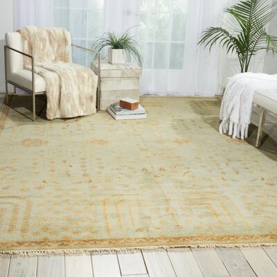 Friso Hand-Knotted Gold Area Rug