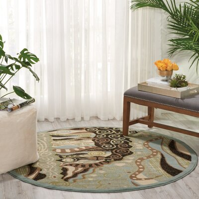 Hyde Green Area Rug Rug Size: Runner 22 x 73