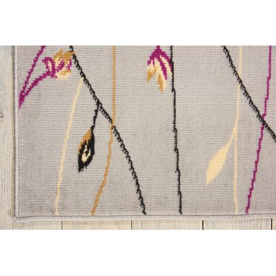 Nash Gray Indoor Area Rug Rug Size: Rectangle 53 x 73