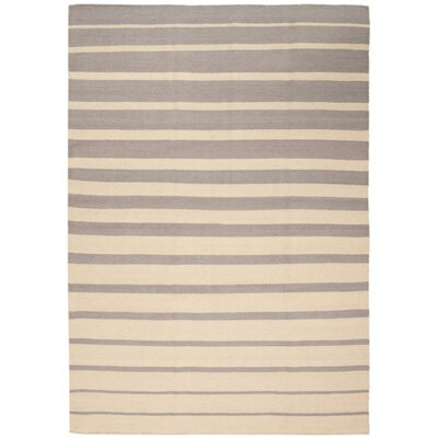 Delaney Hand-Woven Ivory/Gray Indoor Area Rug