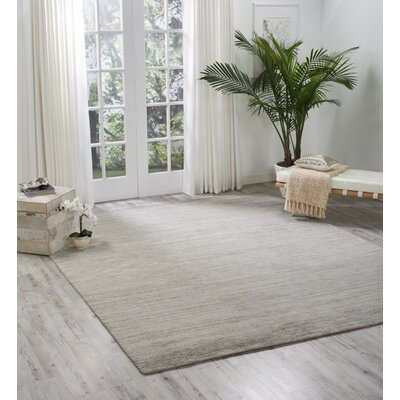 Carter Hand-Knotted Shell Area Rug Rug Size: Rectangle 56 X 75