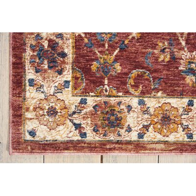 Westbrook Brick Area Rug Rug Size: Square 5