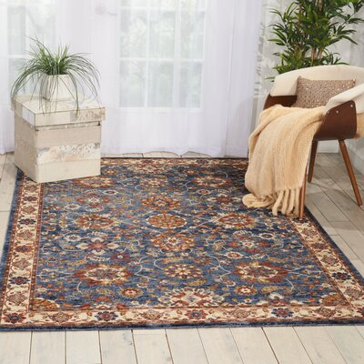 Westbrook Blue Area Rug Rug Size: Runner 23 x 76