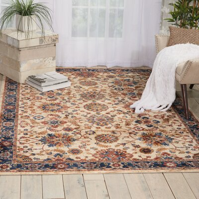 Westbrook Cream Area Rug Rug Size: Runner 23 x 76