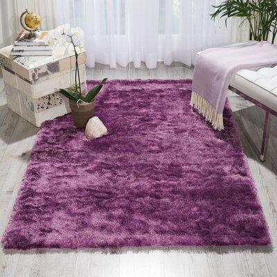 Pilipenko Hand-Tufted Lavender Area Rug