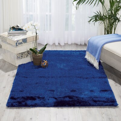 Pilipenko Hand-Tufted Navy Area Rug