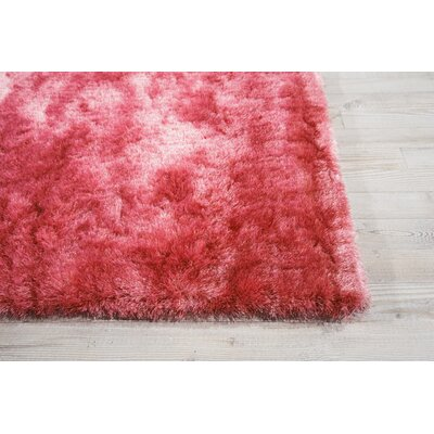 Pilipenko Hand-Tufted Peach Area Rug