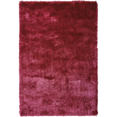 Pilipenko Hand-Tufted Pink Area Rug