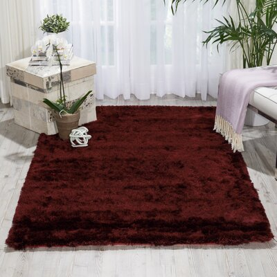 Pilipenko Hand-Tufted Plum Area Rug