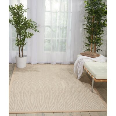 Uleena Hand-Woven Toast Area Rug Rug Size: Rectangle 5 x 76