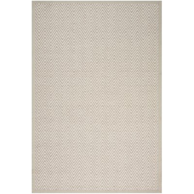 Uleena Hand-Woven Stone Area Rug Rug Size: Rectangle 8 x 10