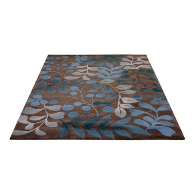 Holmes Hand Tufted Mocha Area Rug Rug Size: Rectangle 26 X 4