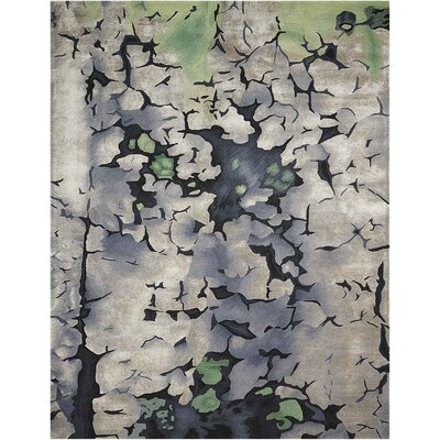 Prismatic Hand Tufted Charcoal Indoor Area Rug