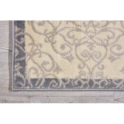 Coulston Ivory Indoor Area Rug Rug Size: Rectangle 32 x 47