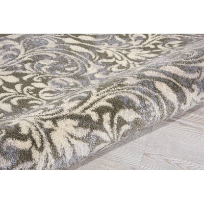 Coulston Gray Indoor Area Rug Rug Size: Rectangle 5 x 73