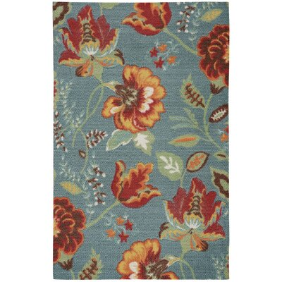 Burnside Blue Indoor Area Rug