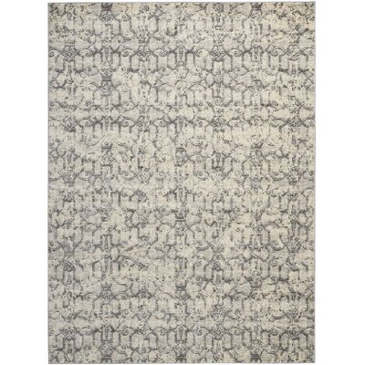 Origin Ivory/Gray Indoor Area Rug Rug Size: Rectangle 96 x 13