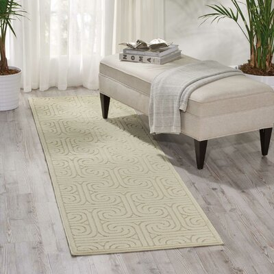 Marietta Beige Area Rug Rug Size: Rectangle 36 x 56