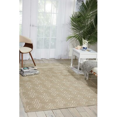 Marietta Tan Area Rug Rug Size: Rectangle 36 x 56