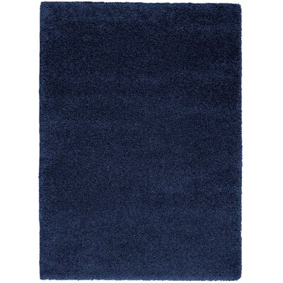 Parrish Navy Area Rug Rug Size: Rectangle 67 x 96