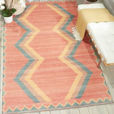 Joplin Tangerine Area Rug Rug Size: Rectangle 36 x 56
